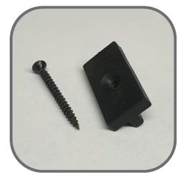 6mm Tee Clip & Screw