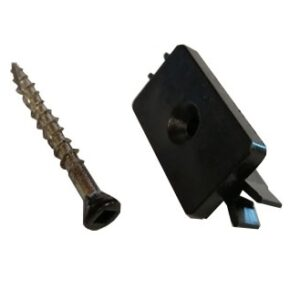 DuoDeck clip and screw