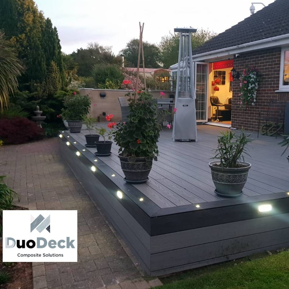 wooden composite decking yeovil duodeck